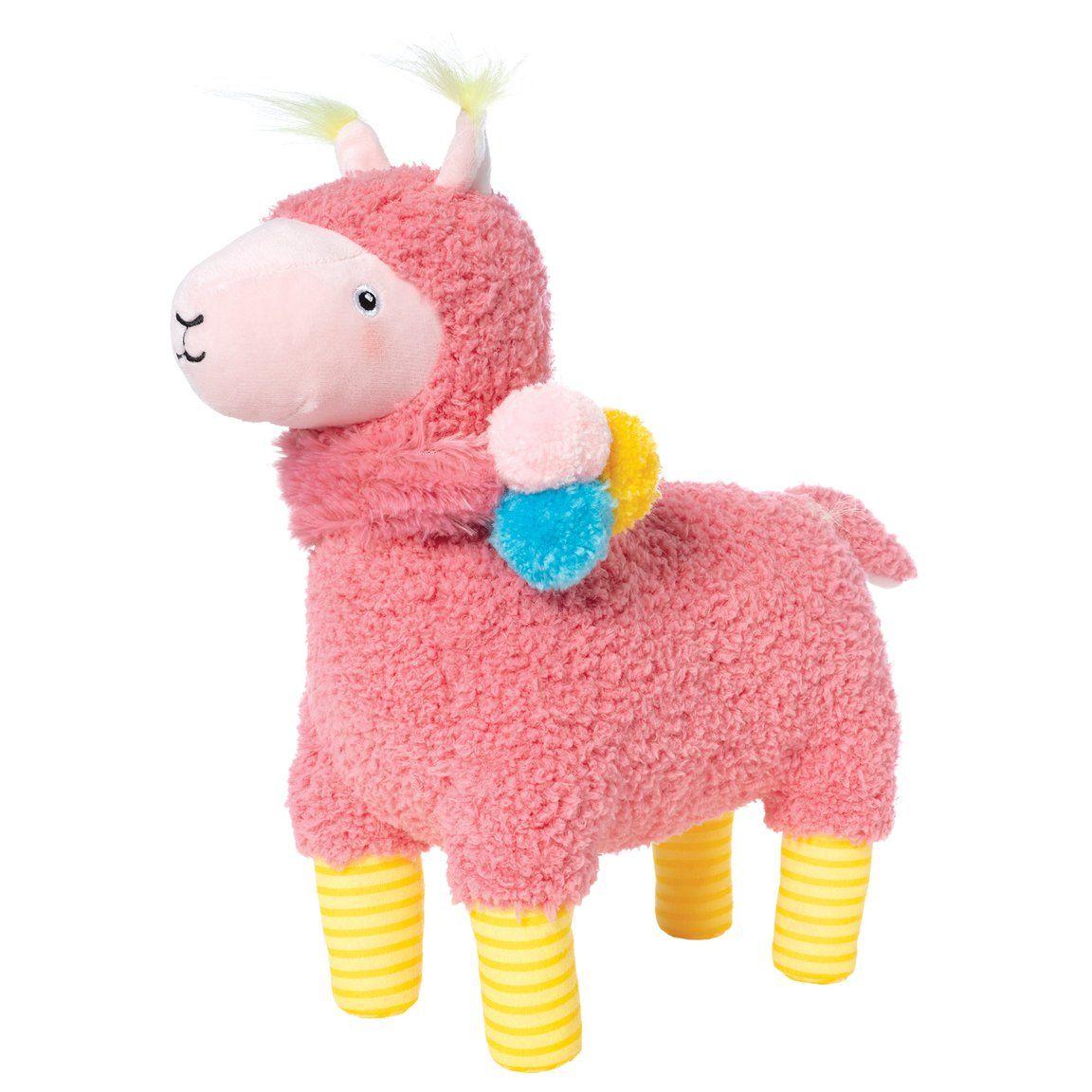 Amigos llama pink kids wear dinosaur stuffed animal
