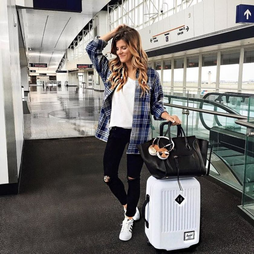 ad21308004 70 Summer Airplane Outfits Travel Style Ideas Need to Try https://fasbest.