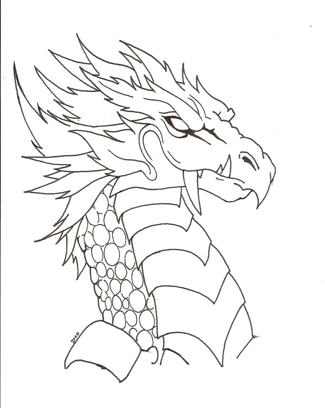 dibujosdedragonesjpg 12731600  dragones  Pinterest