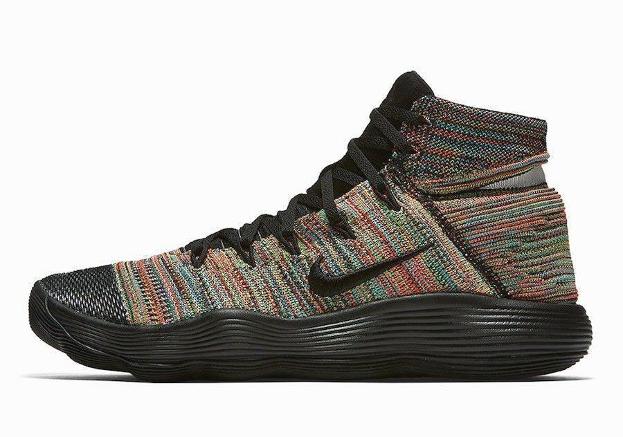 581919bce9f Nike Hyperdunk 2017 Flyknit Mens Basketball Shoes 11.5 Multi-color Black   Nike  BasketballShoes