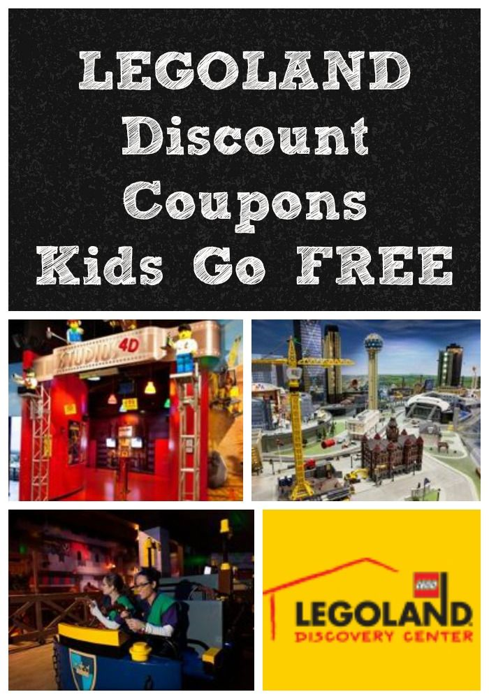Frugal Family Fun In Dfw Legoland Discount Coupons Kids Go Free
