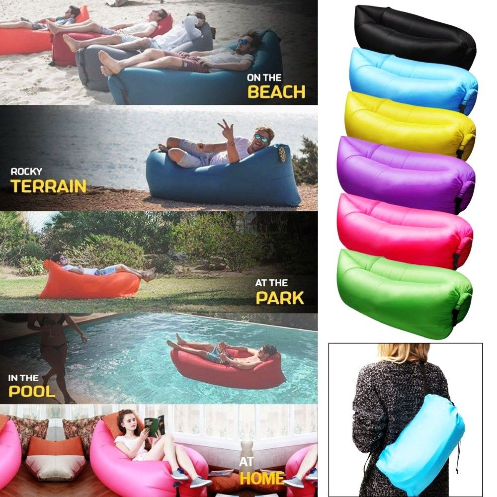 Online Shopping Inflatable Comfortable Flocking Sofa Chair Air Sofa Chair Inflatable Sofa Chair View Air Sofa Chair Beach Sofa Inflatable Lounger Camping Bed