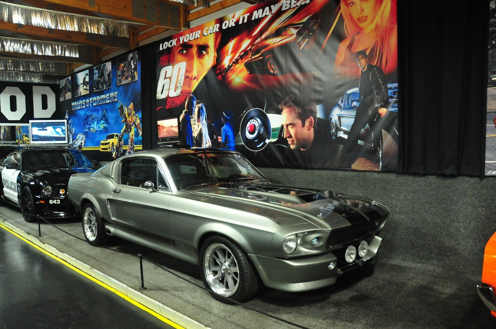 Eleanor Shelby Mustang at the Volo Auto Museum, Volo, IL. www ...