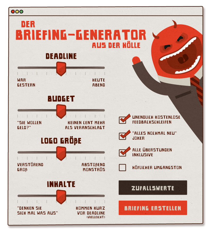 Briefing Generator from Hell