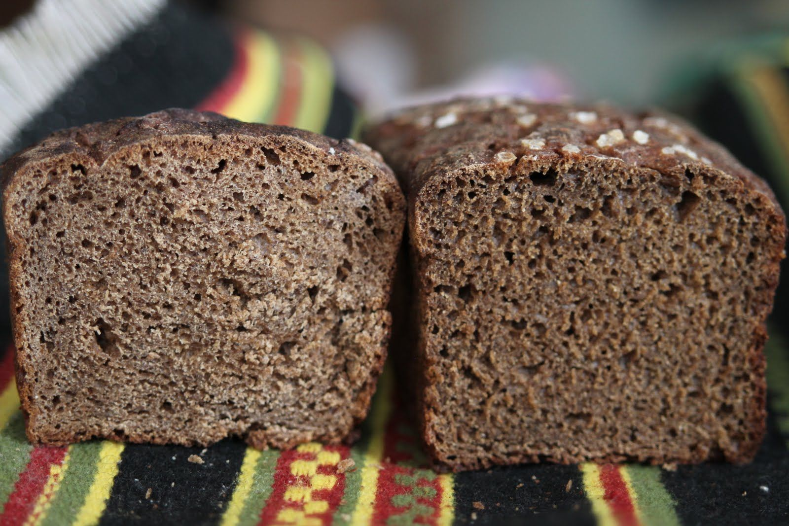 You Just Have To Try Estonian Black Bread Its Made Of Rye Flour