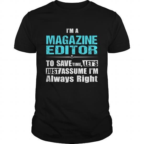 MAGAZINE-EDITOR #jobs #tshirts #MAGAZINE #gift #ideas #Popular - magazine editor job description
