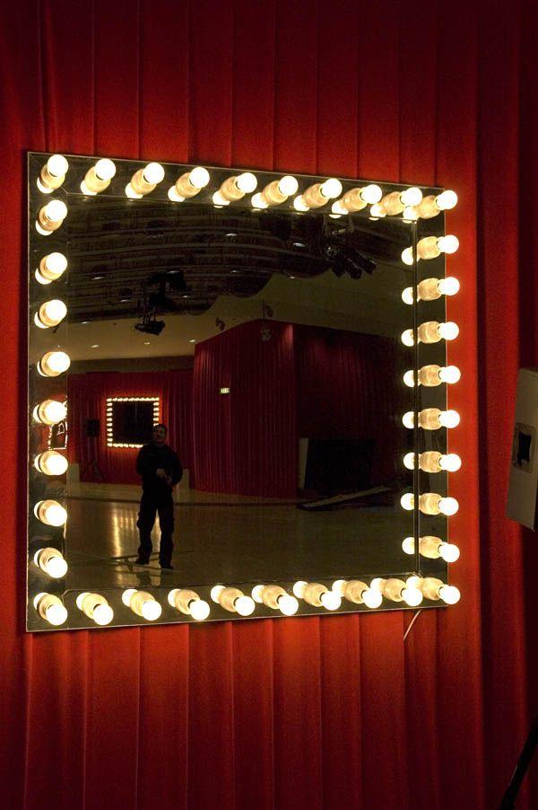 Mirror Dressing Room Mirror Room Lights Bar Decor