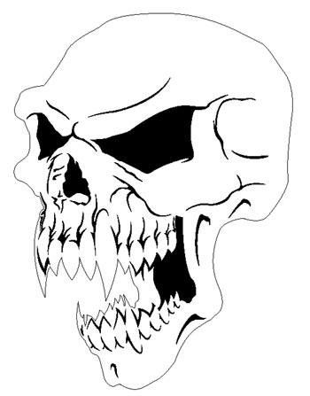 Demon Skull Drawings Evil Skull Drawings Transparent Pictures
