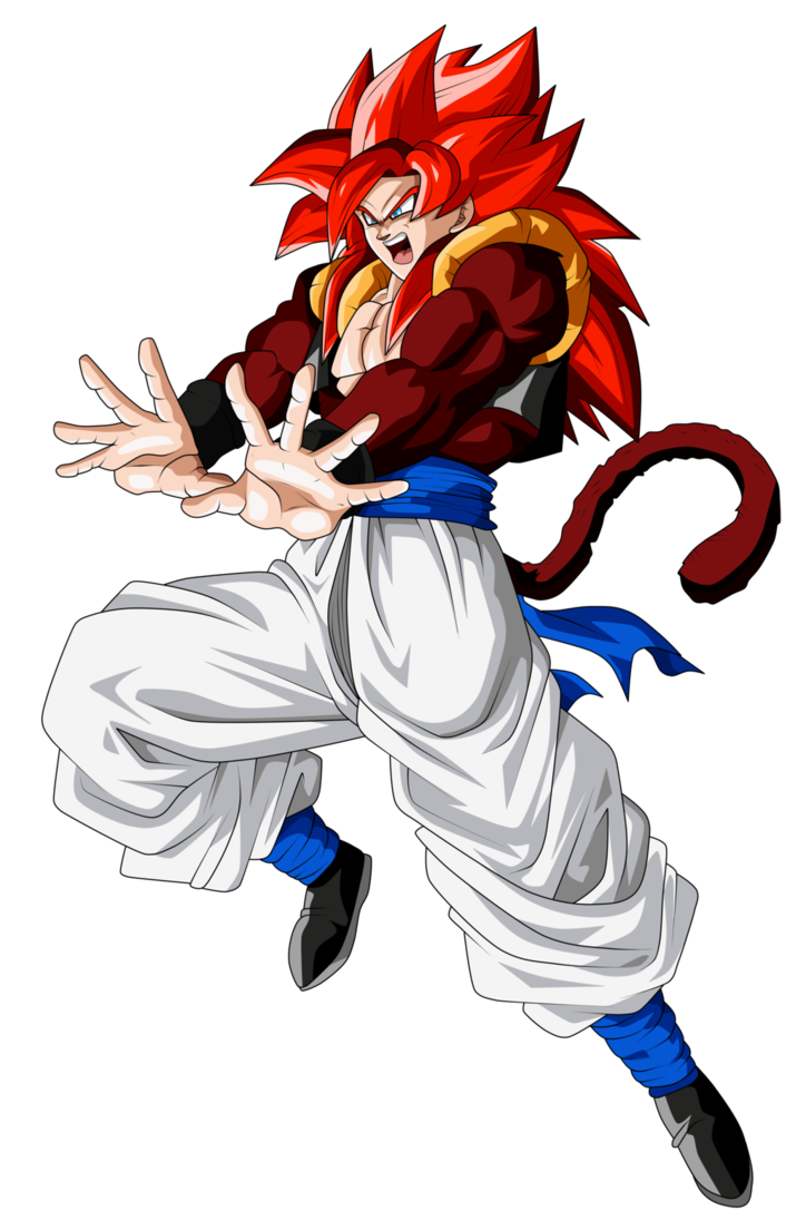 Gogeta Super Saiyan 4 by Frost-Z | Dragon Ball Super ...