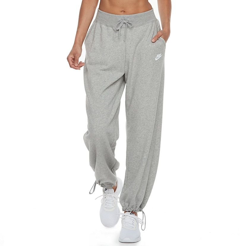 Women's Nike Sportswear Midrise Drawstring Cuff Pants ...