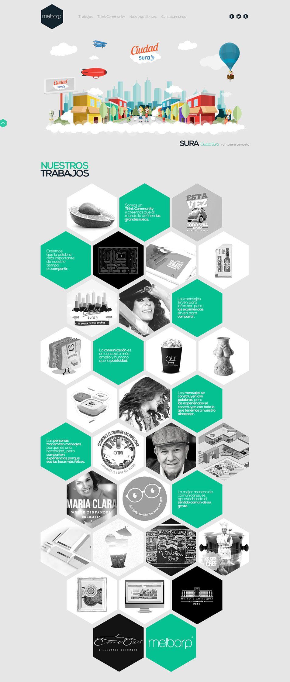 malborp #webdesign | COOL | Pinterest | Web design inspiration, Web ...