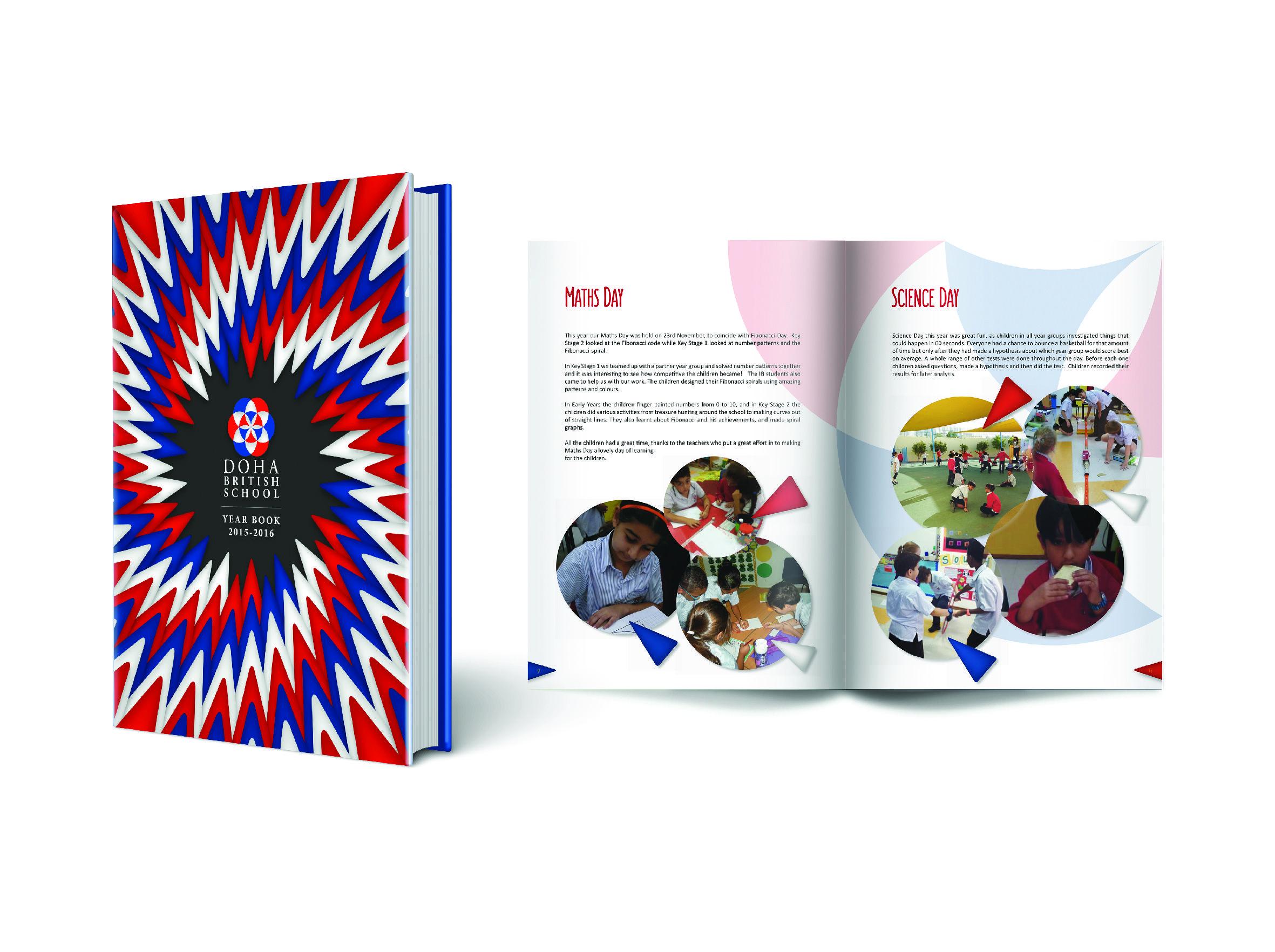 Doha british school ain khaled year book design and layout design doha british school ain khaled year book design and layout design layout concept fandeluxe Gallery