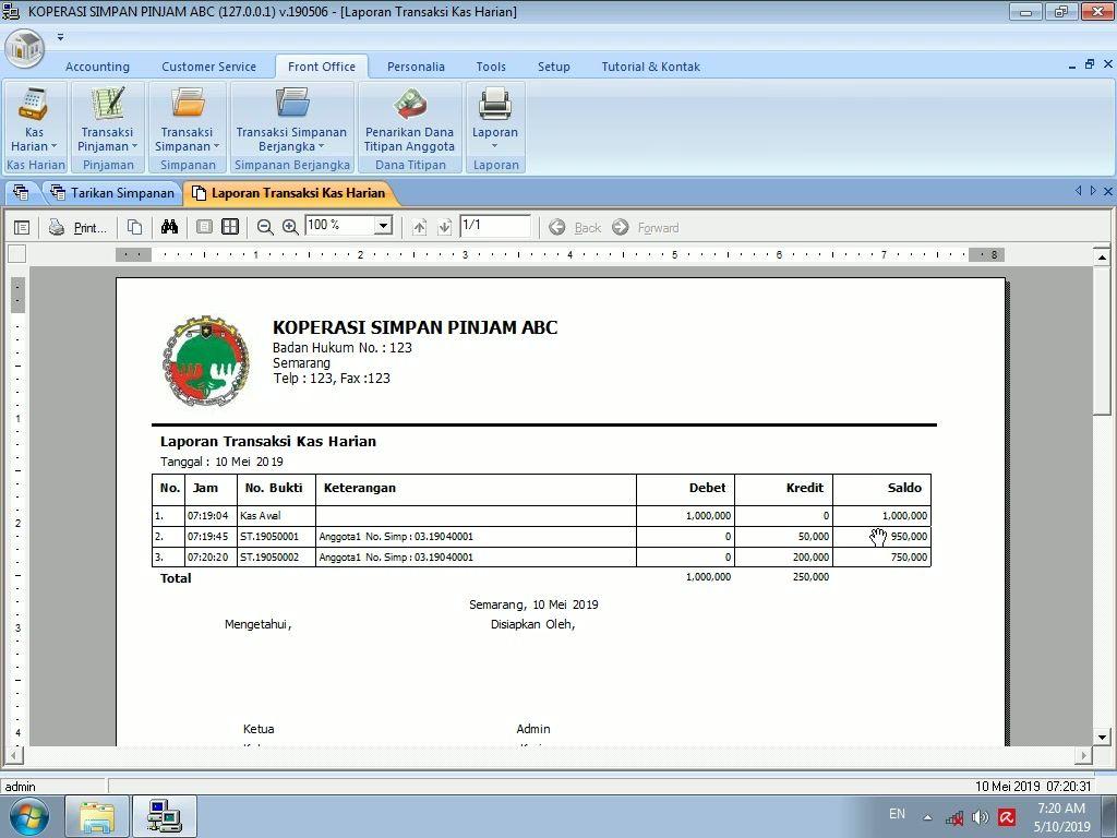Aplikasi Penjualan Excel Gratis Full Version - Guru Paud