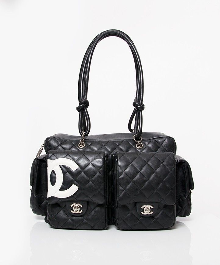 c2e3946ffb89 Vintage Chanel Cambon Reporter Bag -www.labellov.com | We LOV Chanel ...