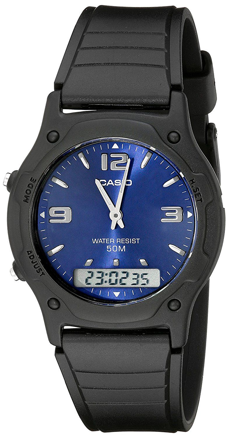 Casio Men's AW49HE2AV AnaDigi Sport Watch * Check this