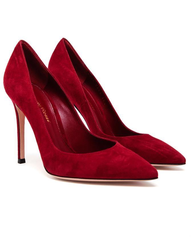 92eea86cfb6 GIANVITO ROSSI | Suede Pointed Pumps | Browns fashion & designer ...