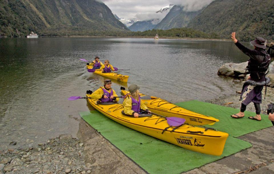 Roscos Milford Kayaks, Fiordland, NZ 82 travel reviews