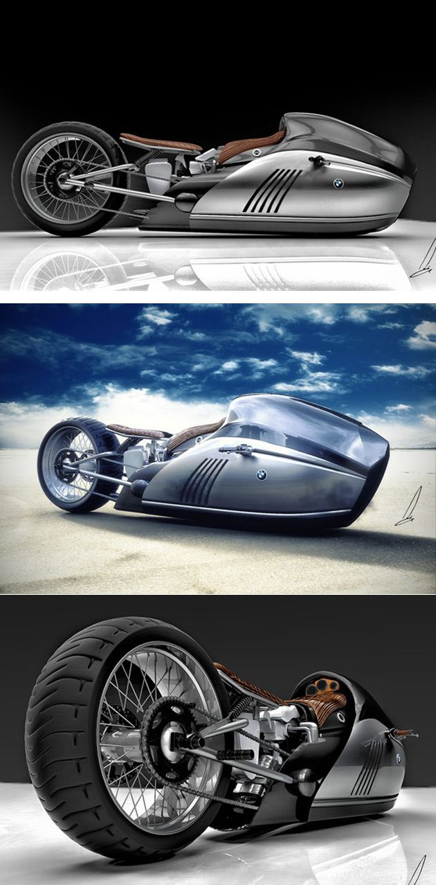 BMW Alpha Motorcycle Combines Technology with Classic