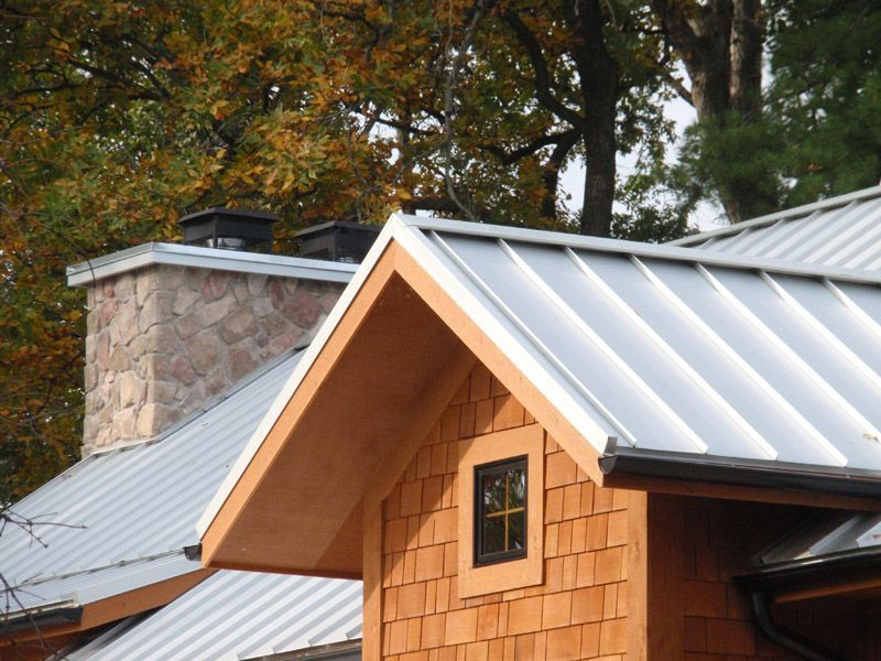Image Result For Standing Seam Steel Roof Rake Detail Roofingtips Roof Architecture Metal Roof Roofing