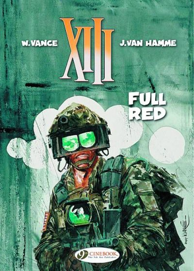 Xiii Covers By William Vance Hamme Books Animated Cartoons