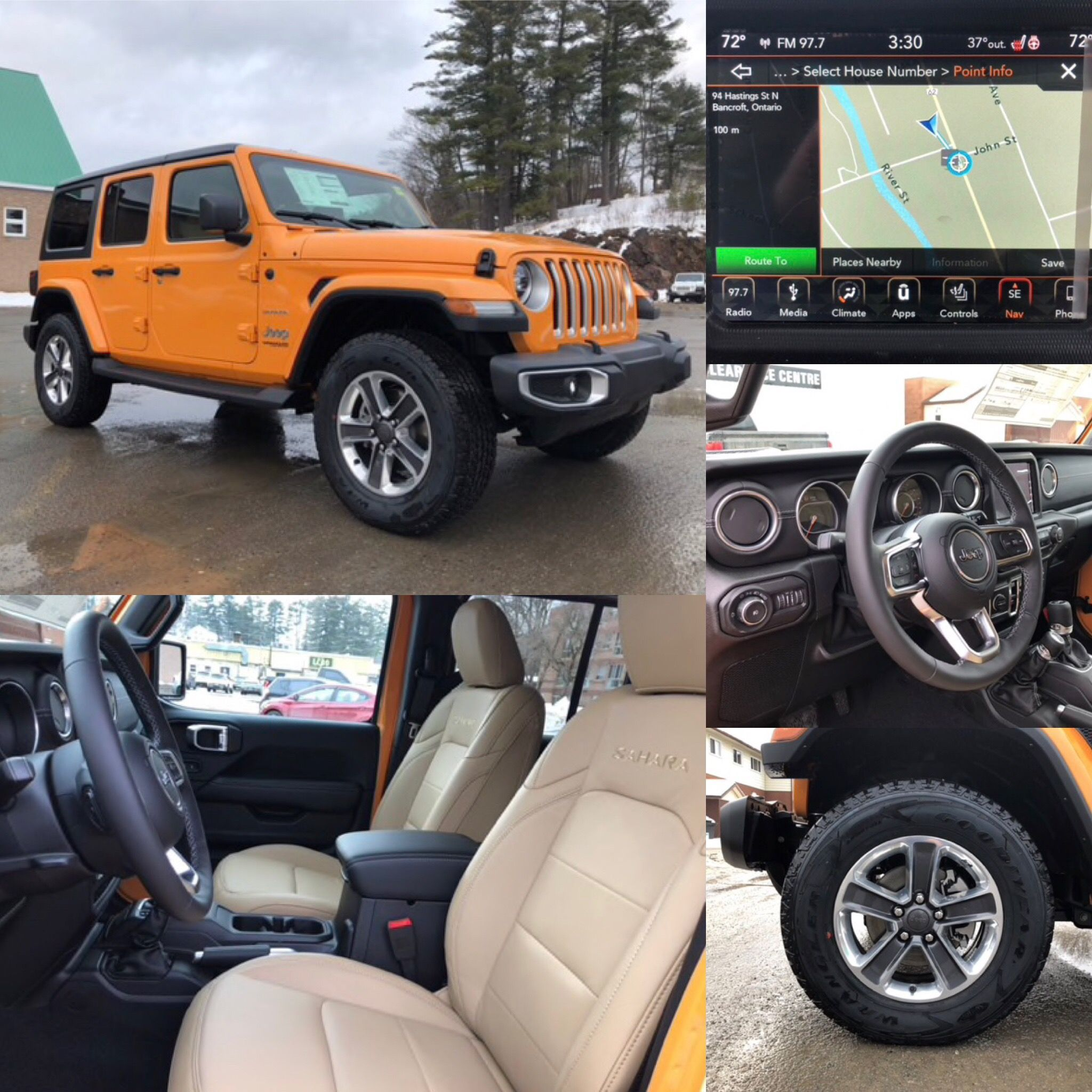2018 Nacho Jeep Wrangler Unlimited Sahara 4x4 Leather Htd