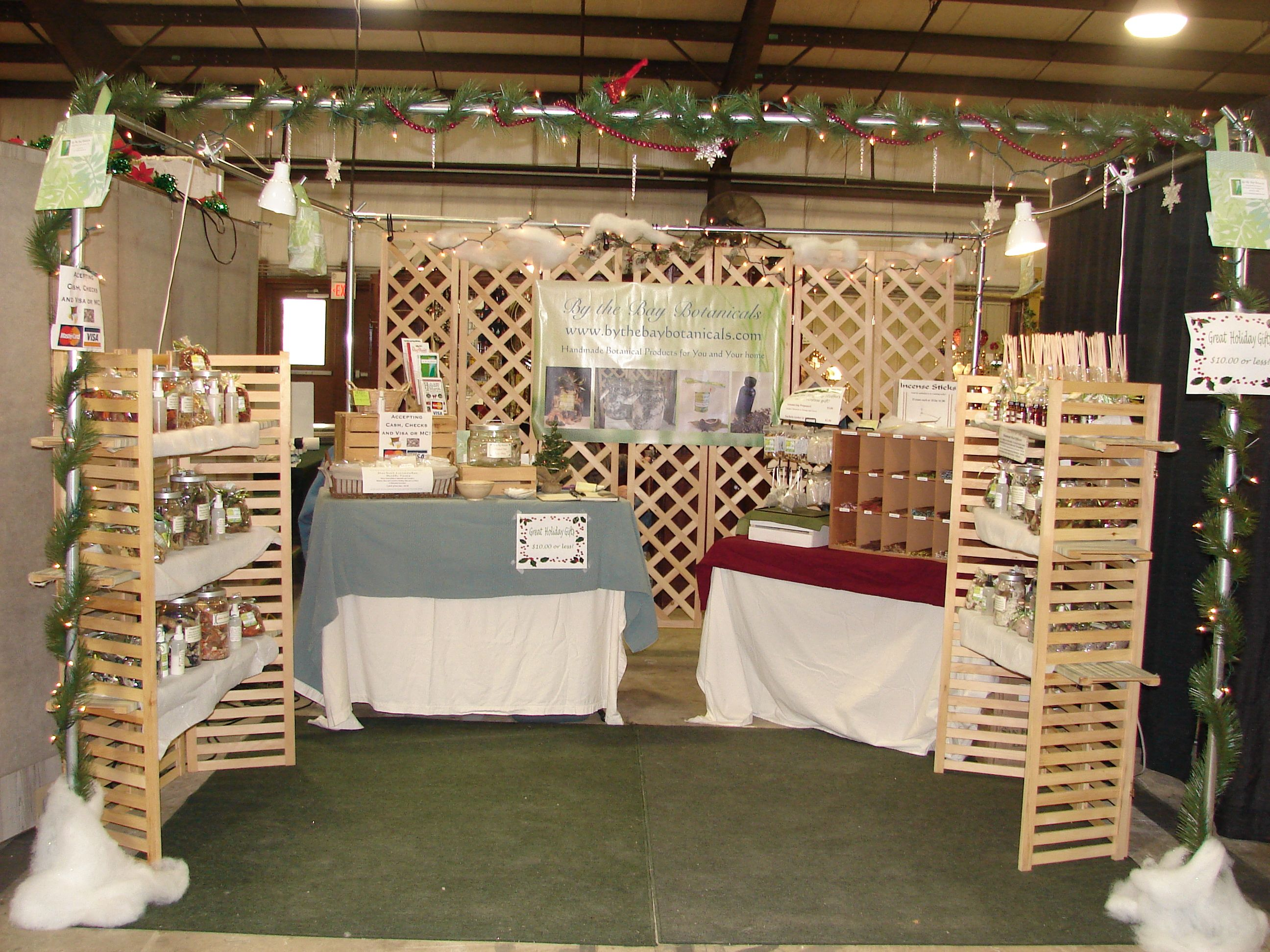 Craft Booth Display Ideas Here S A Pic Of My Christmas Booth