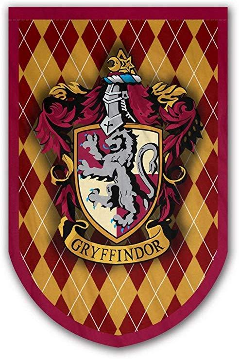 Amazon Com Harry Potter Gryffindor Banner Gryffindor Flag Printed On Both Sides Perfect Condi Harry Potter Banner Harry Potter Colors Harry Potter Print
