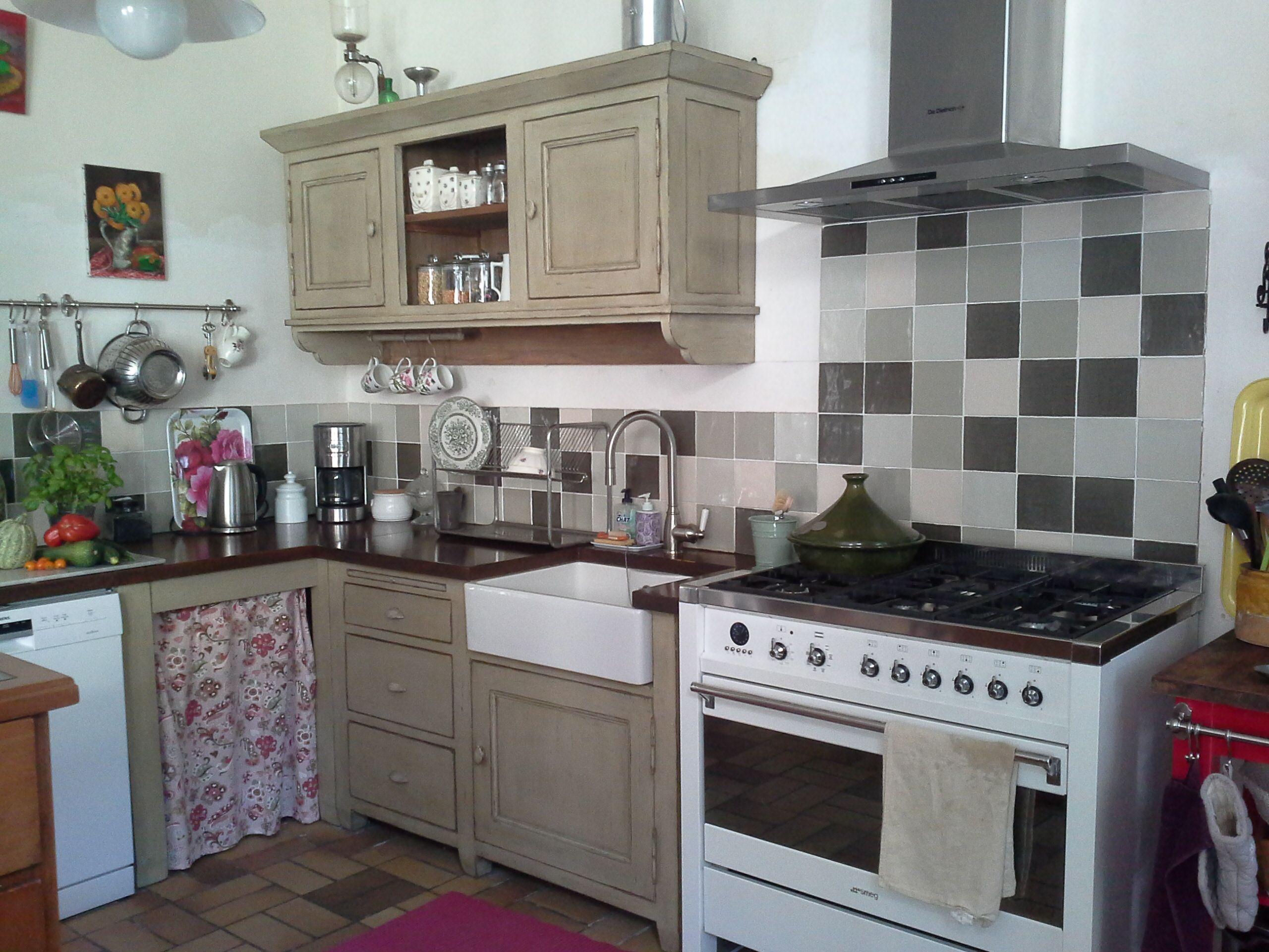 cuisine de charme kitchen cuisines deco cuisine. Black Bedroom Furniture Sets. Home Design Ideas