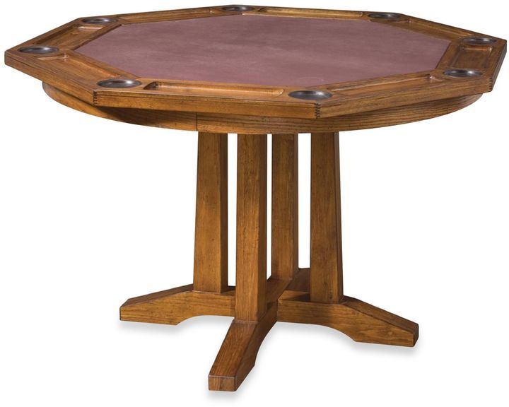 Invite Friends Or Family Over For A Game Night With This Arts And Crafts Game  Table. This Dining Table Surface Quickly Turns Into A Felt Lined Game Table  ...
