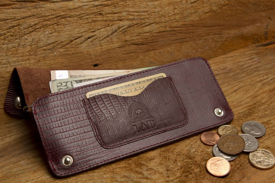 Wallet – Croco lunga 100% leather Check: www.lab-store.com #labaccessories