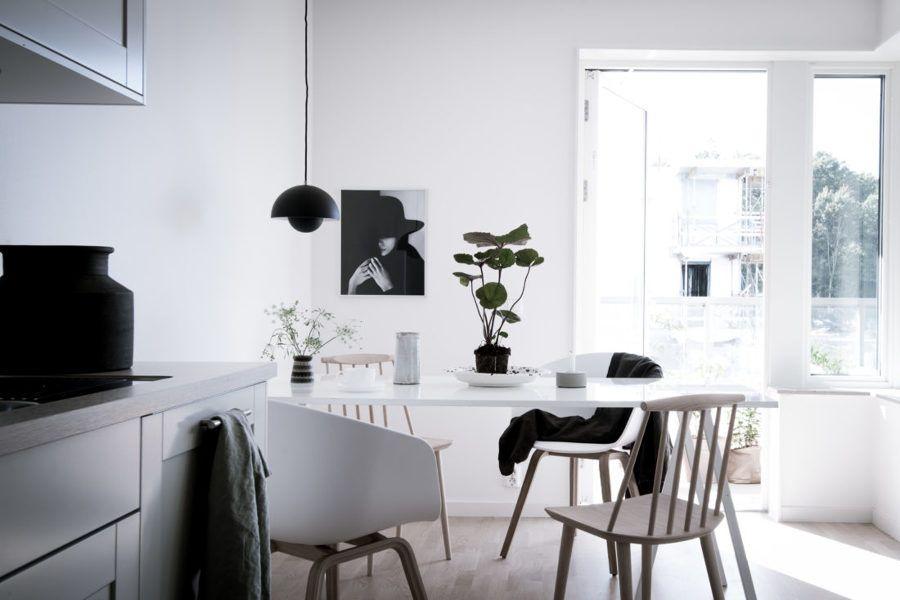 Comedor estilo nórdico | my home | Pinterest | Estilo nórdico, Casa ...