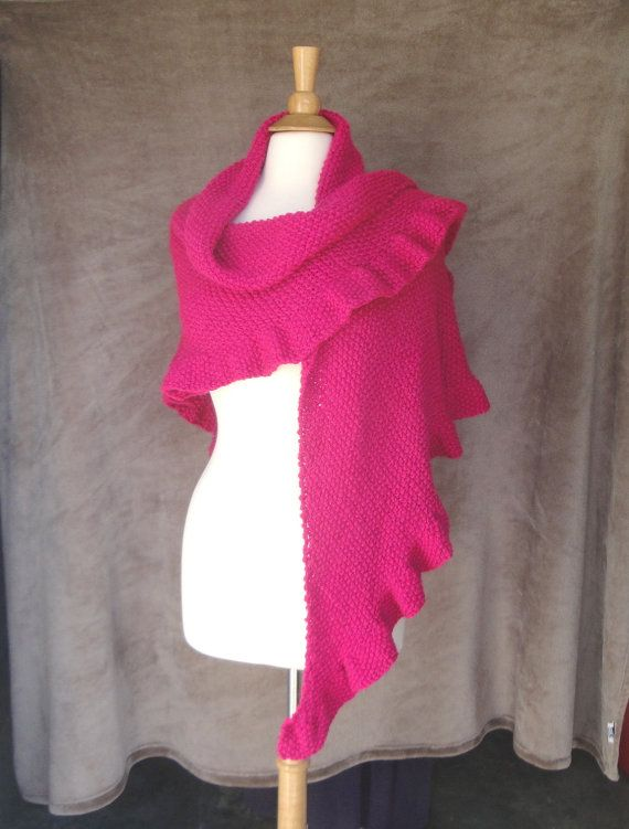 Knitting Pattern Quick Email Download A Simple Textured Shawl With