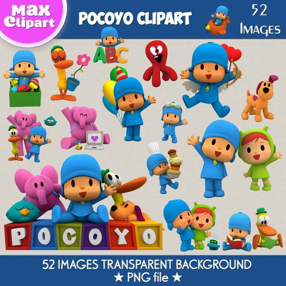 Pocoyo Clipart Pocoyo Png Pocoyo Images Pocoyo Digital Clipart