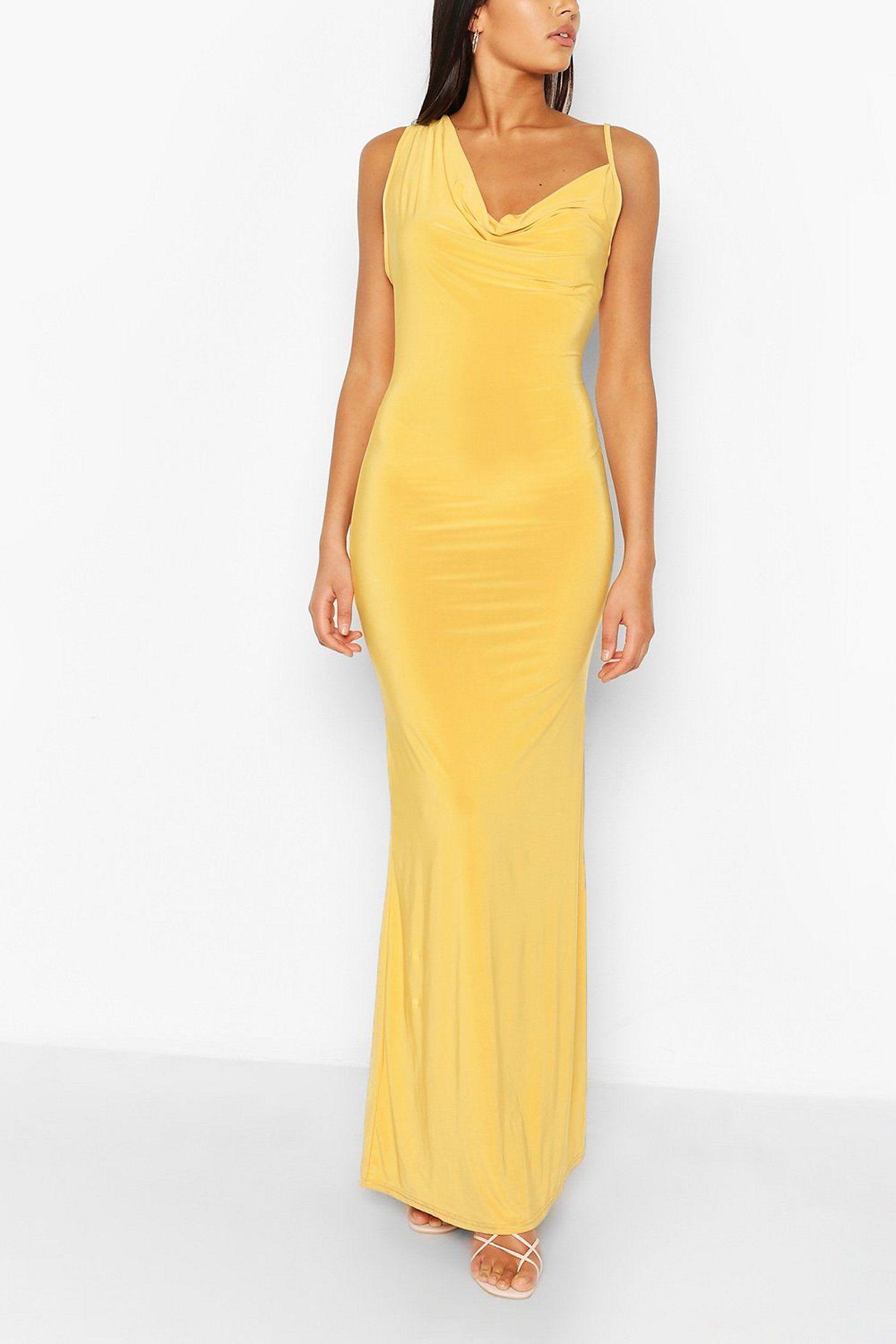 Draped Strappy Maxi Dress Boohoo Strappy Maxi Dress Bodycon Fashion Maxi Dress [ 2181 x 1454 Pixel ]