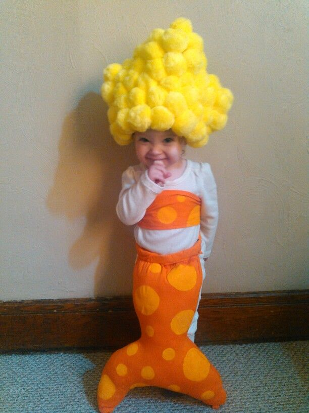 Bubble Guppies Costume : bubble, guppies, costume, Homemade, Bubble, Guppie, Toddler, Costume, Halloween, Girl,, Halloween,, Costumes