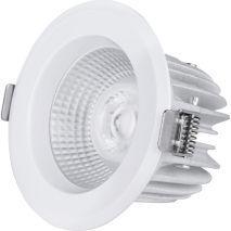 LED downlight 10W 2700K 40 gr behuizing kleur wit excl driver