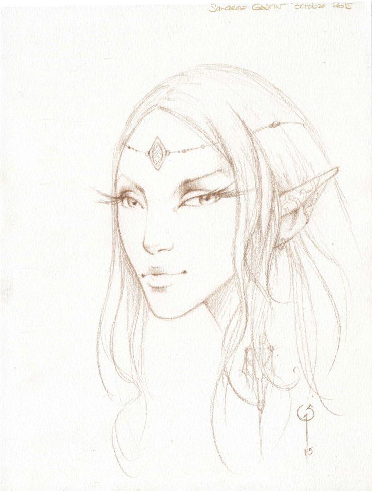 Sandrine Gestin Fantasy Myth