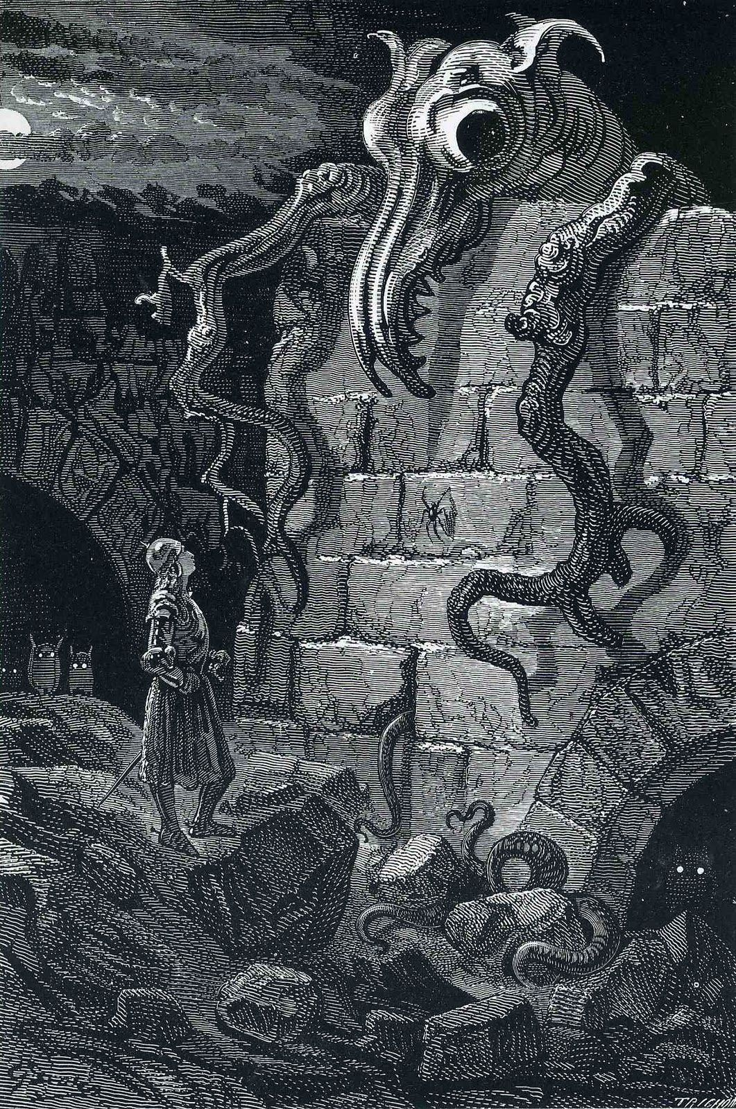 The Gnarled Monster by Gustave Dore, 1870   Art   Gustave ...