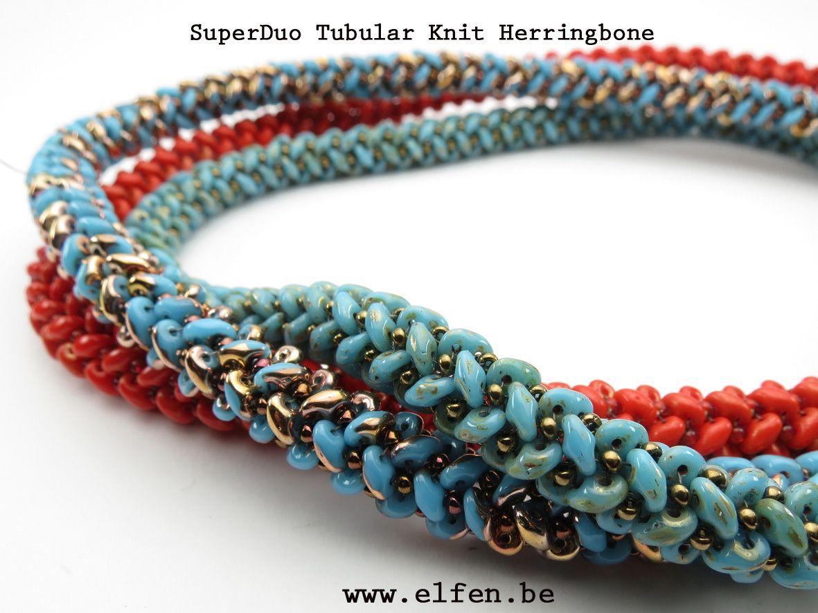 Superduo Herringbone Rope video ~ Seed Bead Tutorials ...