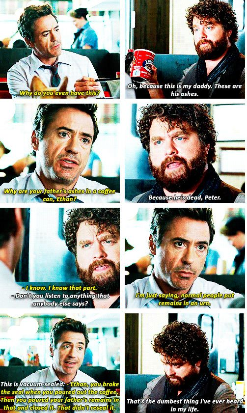 Explaining Things To Ethan Or Trying To Due Date Rdj