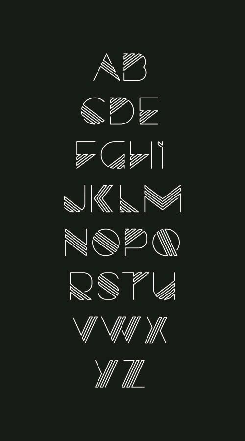 Pin by Yuan Yao on zi | Calligraphy alphabet, Typography