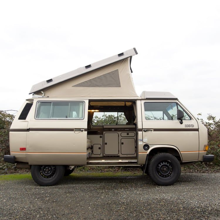 1986 volkswagen vanagon motor home camper van rental in
