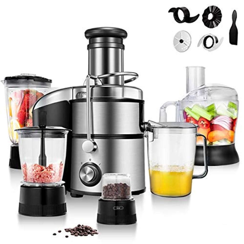 Food Processor Blender Mixer Juicer All In One Kitchen ...