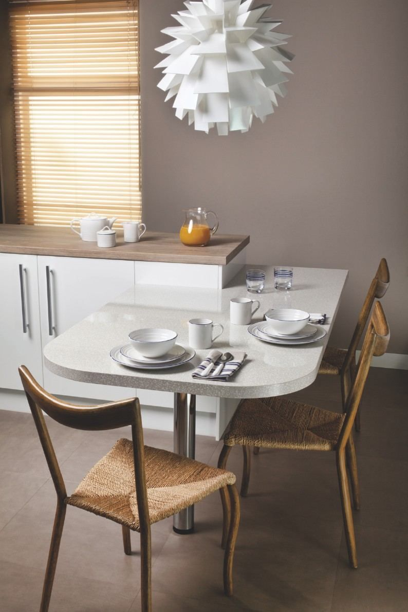 coin repas cuisine astuces d 39 am nagement et photos cool demeures pinterest cuisine taupe. Black Bedroom Furniture Sets. Home Design Ideas