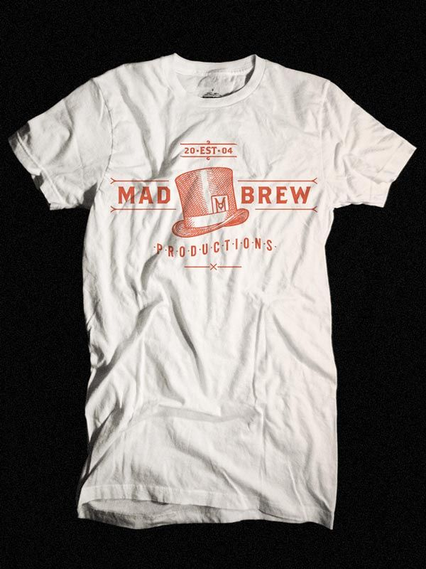 2cb8b663b Mad Brew Rebranding by Adam Hill   T-Shirts   Shirt designs, T shirt ...