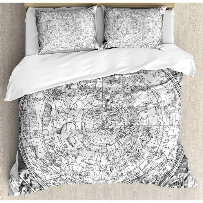 Constellation Detailed Vintage Boreal Hemisphere Astronomy