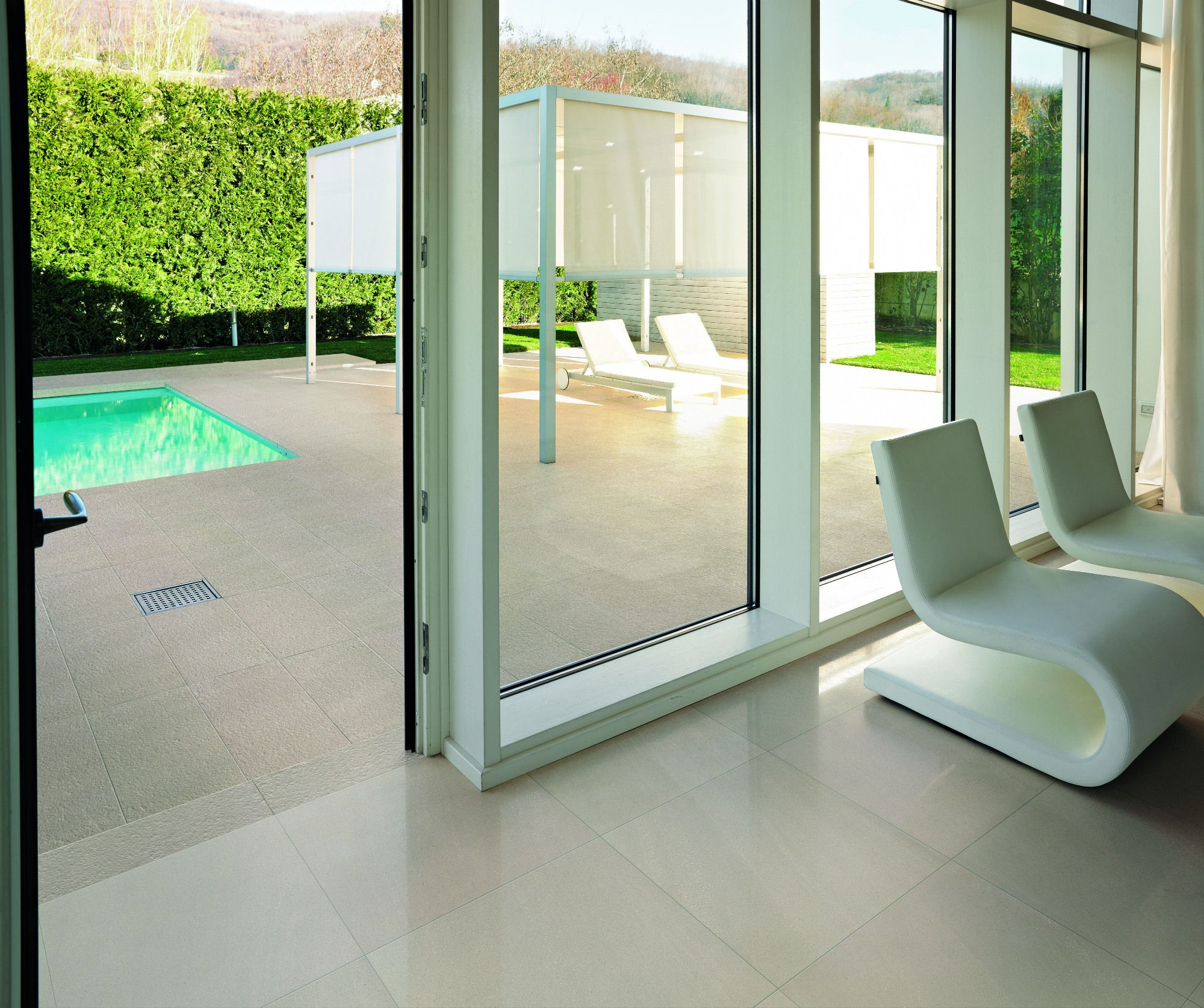 floor tiles for indoor and outdoor use. outside floor tiles: for-ever rock strutturato 30 x 60 cm* / inside lappato cm a wonderful tile to use and out. tiles for indoor outdoor