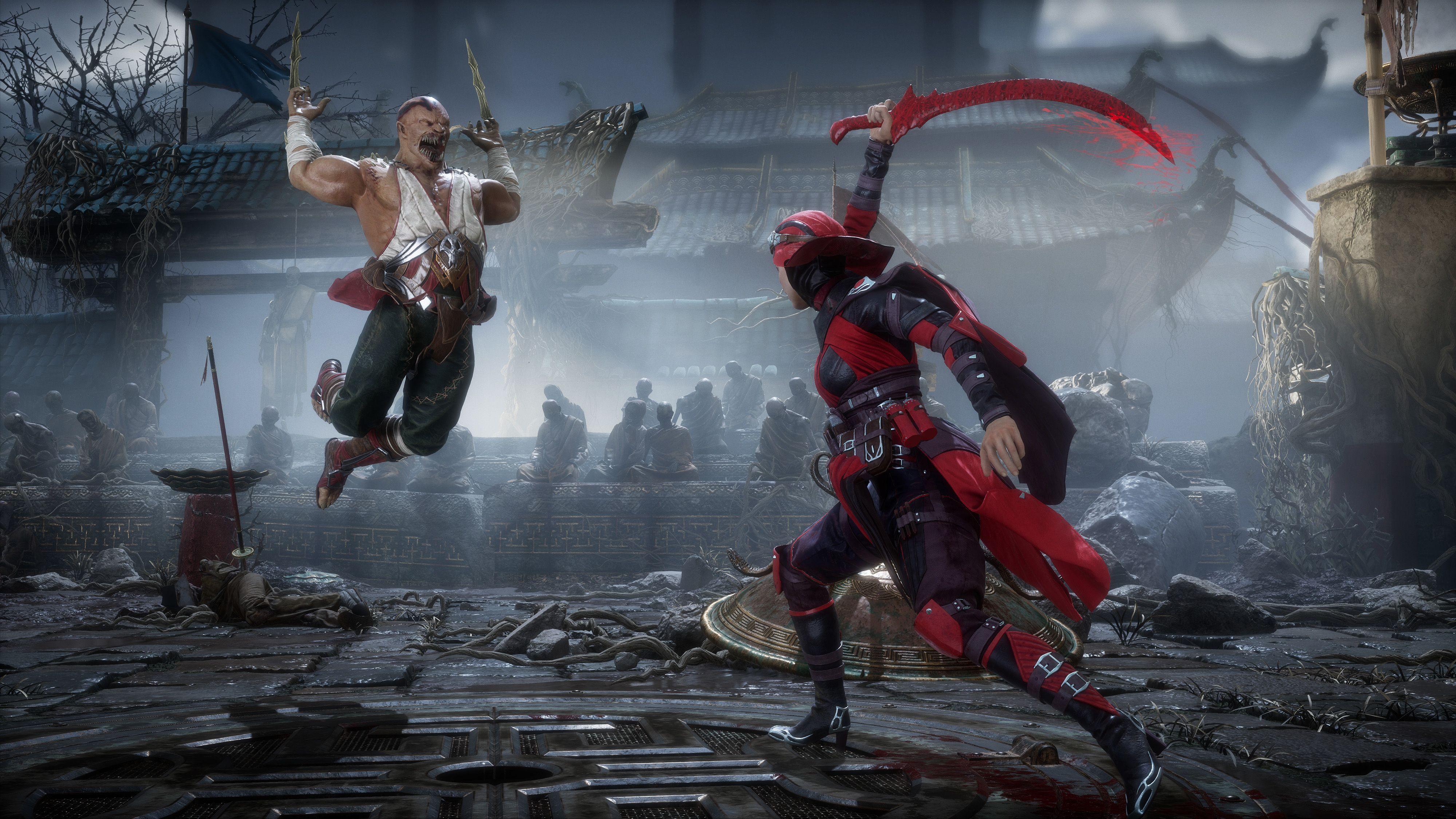 Mortal Kombat 11 Mortal Kombat Fighting Games Xbox One Games