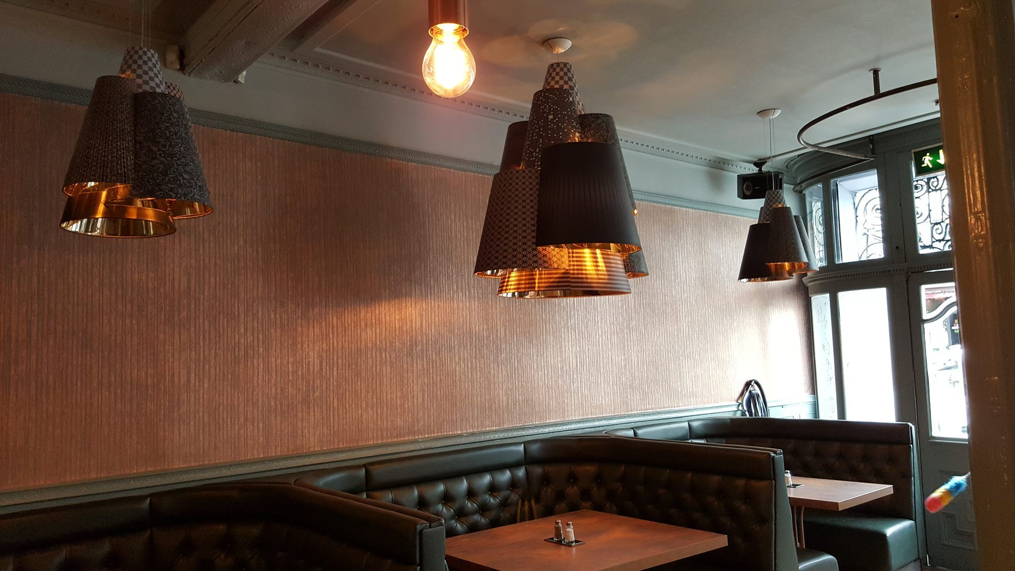 vintage quirky traditional meets modern london pub bronze