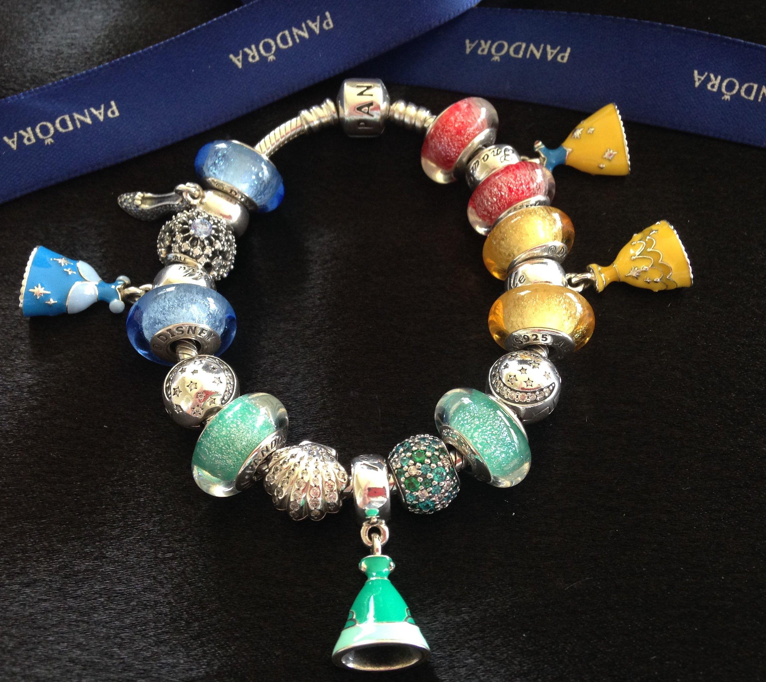 Pandora Disney Princess Charms